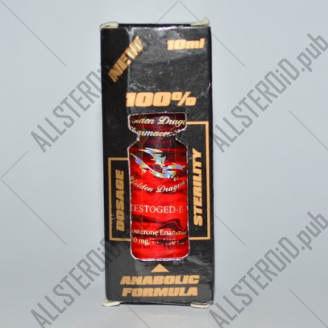 Testoged-E 250мг от Golden Dragon
